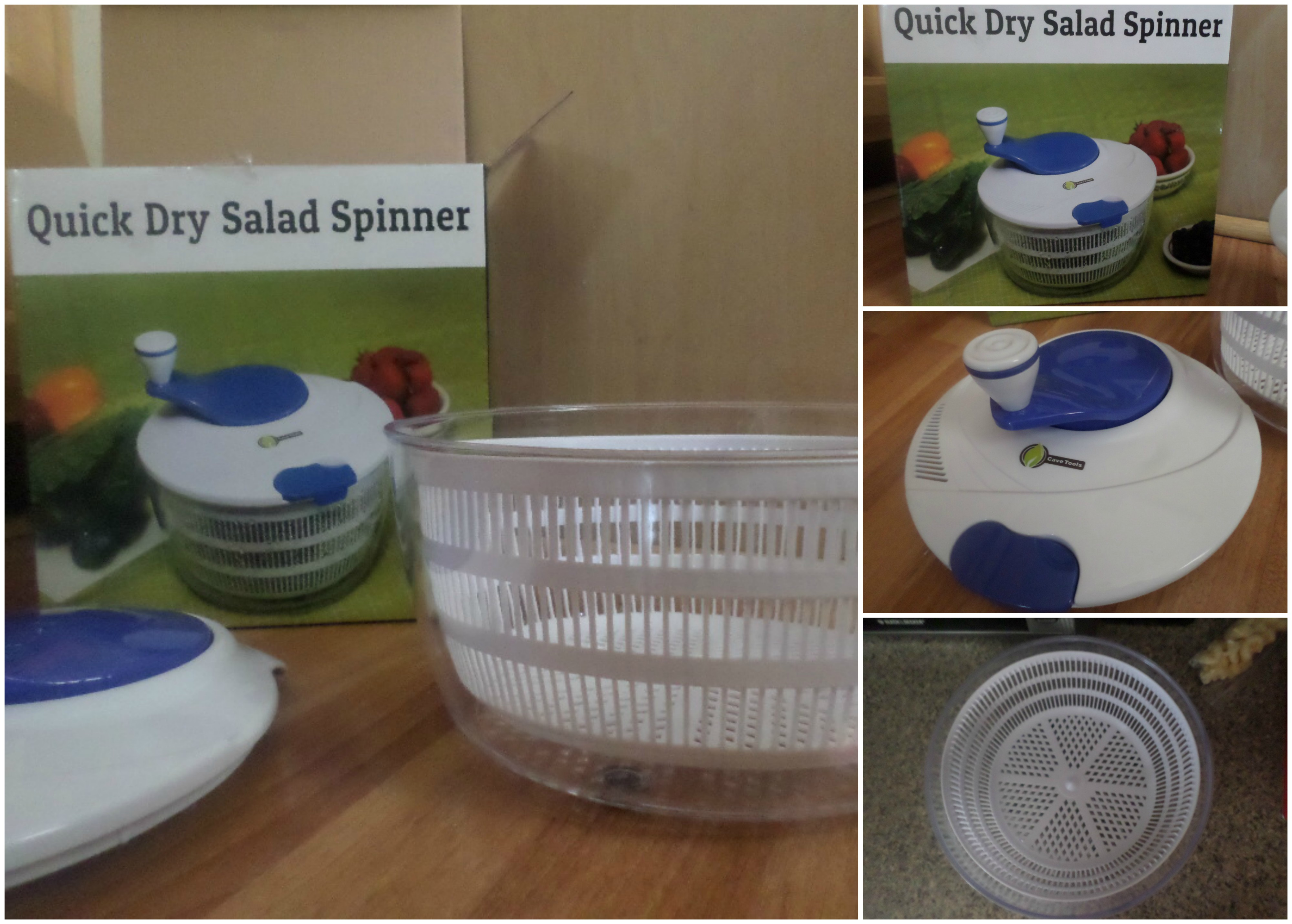 Cave Tools Salad Spinner