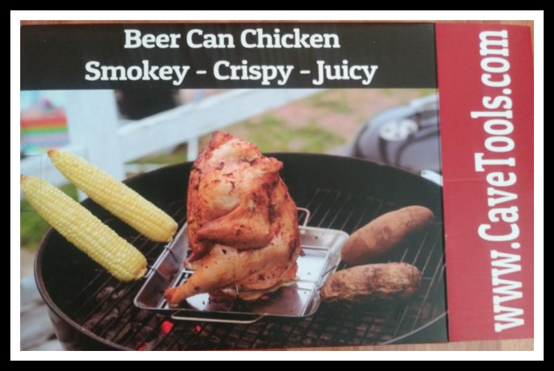 Cave Tools Beer Can Chicken