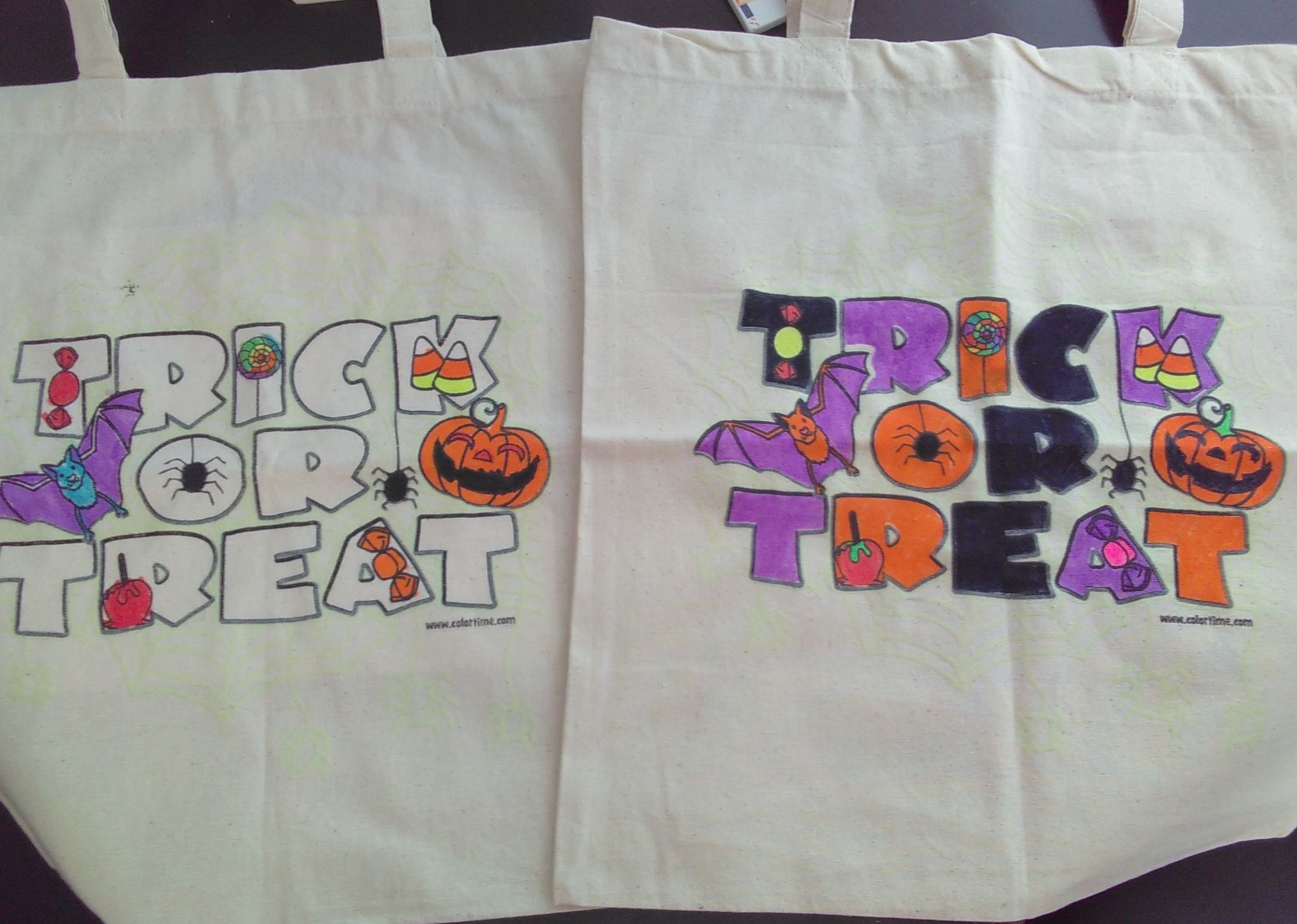 Colortime Halloween Tote