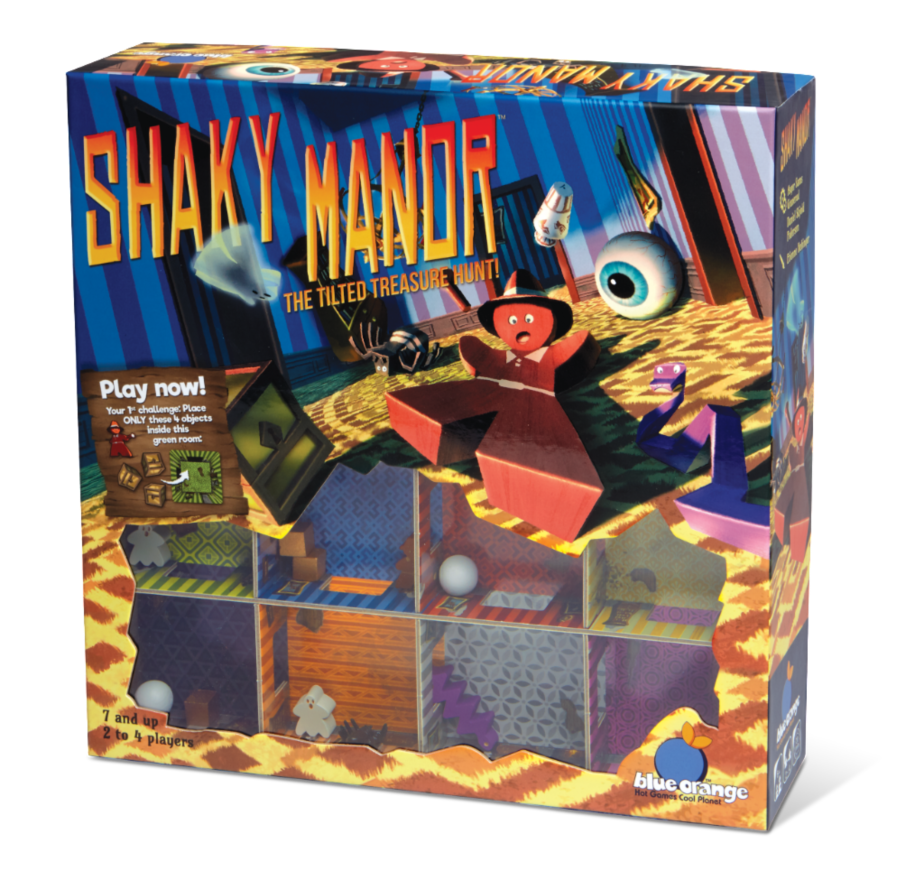 Shaky Manor Game
