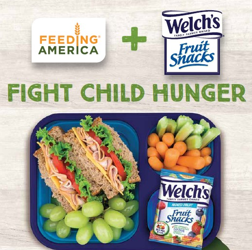 Help Fight Childhood Hunger with Welch's Fruit Snacks